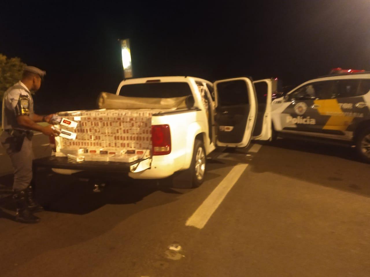 Polícia Militar Rodoviária - Homem de 48 anos afirmou que levaria carga a Marília