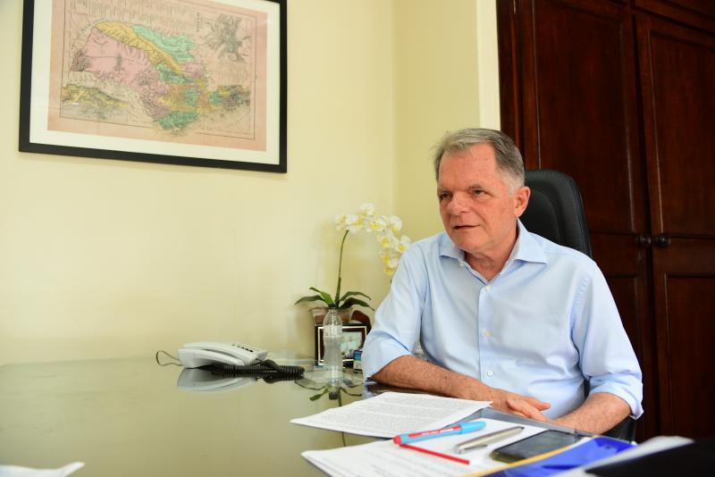 """Arquivo - Bragato: """"A nossa região tem uma agricultura muito forte"""""""
