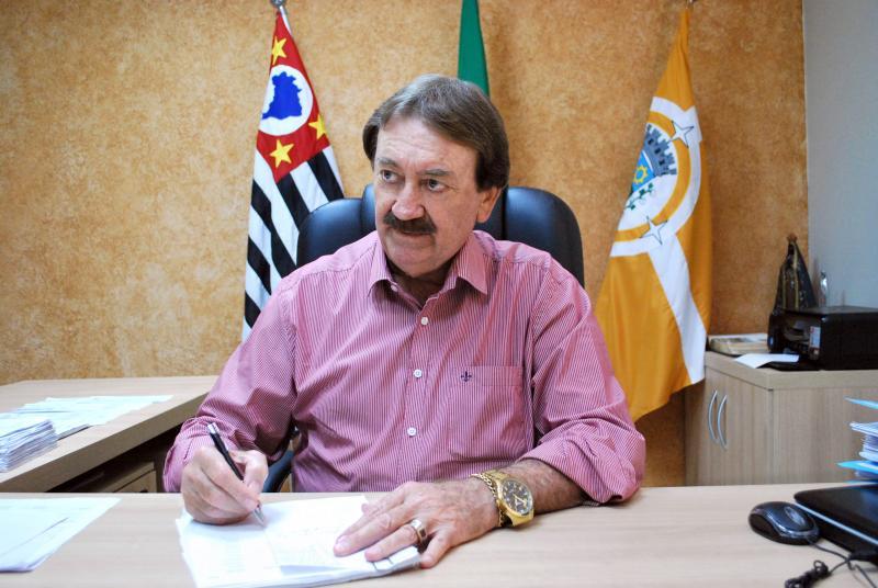 Cedida - Orlando Padovan está na principal cadeira da Prefeitura desde 2013