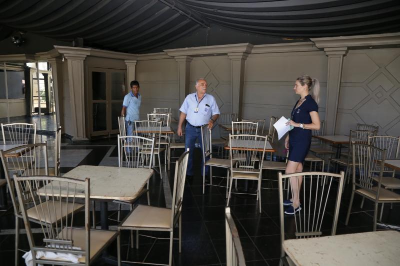 Weverson Nascimento - Local passou por ajustes para receber os foliões