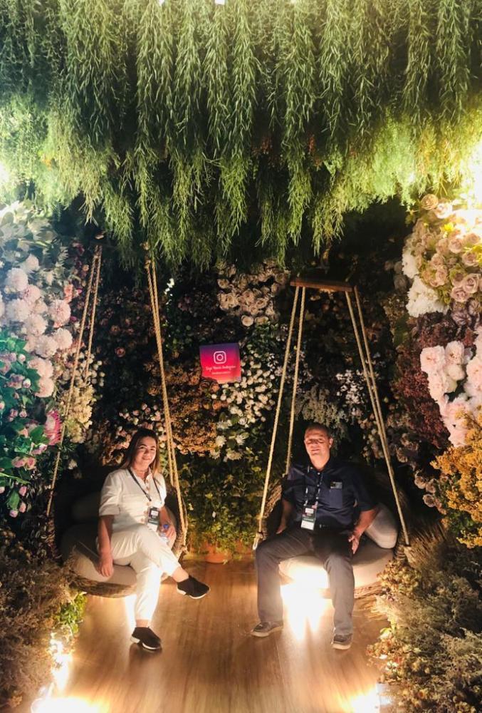 Casal de empresários Rita e Aldir Dalefi, da Multi Itens, está em São Paulo