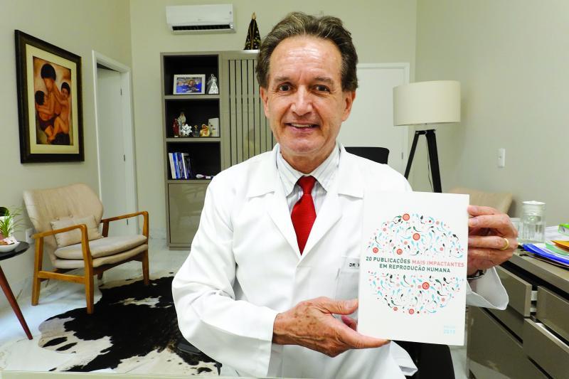 Médico Wilson Jaccoud, diretor da Fert-Embryo Centro de Medicina Reprodutiva