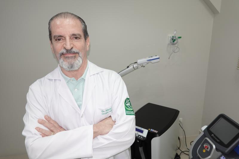 Cirurgião vascular Mário Viotti