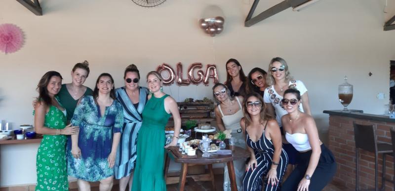 Foto: Angela Mello - Fabiola reuniu em sua casa amigas e familiares para o chá de bebê