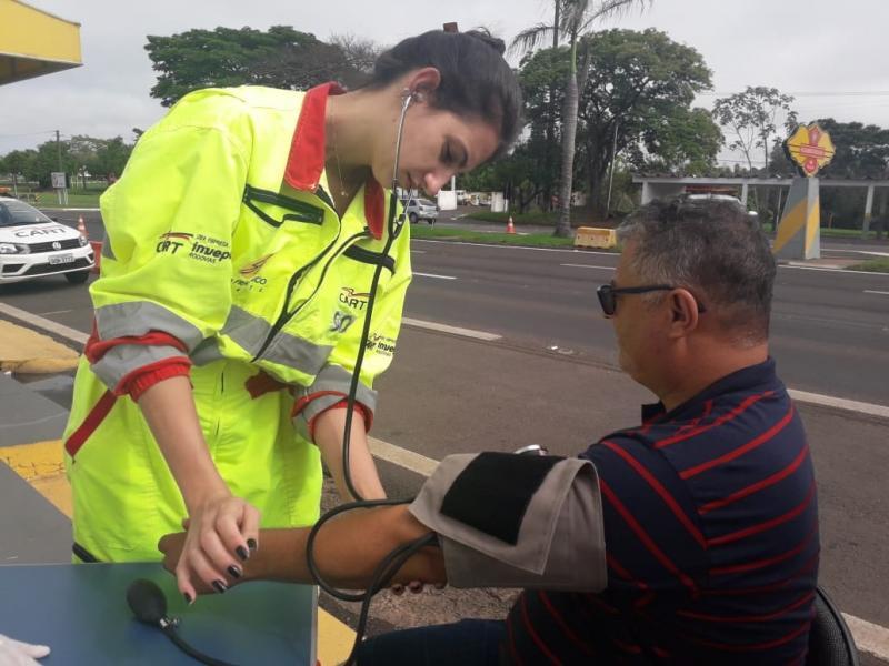 AI da Cart - Ação Saúde e Cidadania ocorreu ontem, em Santo Anastácio