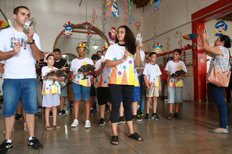 Fotos: Weverson Nascimento - Esquenta para o Bloco do Guri ocorreu ontem no Centro Cultural Matarazzo