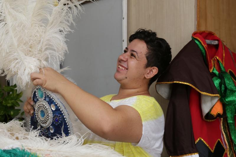 Foto: Isadora Crivelli - Real Grandeza é uma das escolas que está nos preparativos para o desfile de segunda