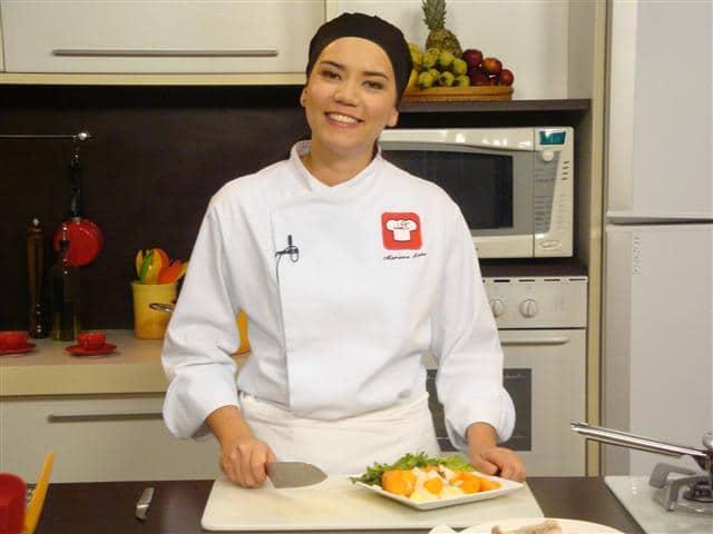 Foto: Miguel Toninato - Chef Mariane Sato ministra workshop de risotos na Unoeste