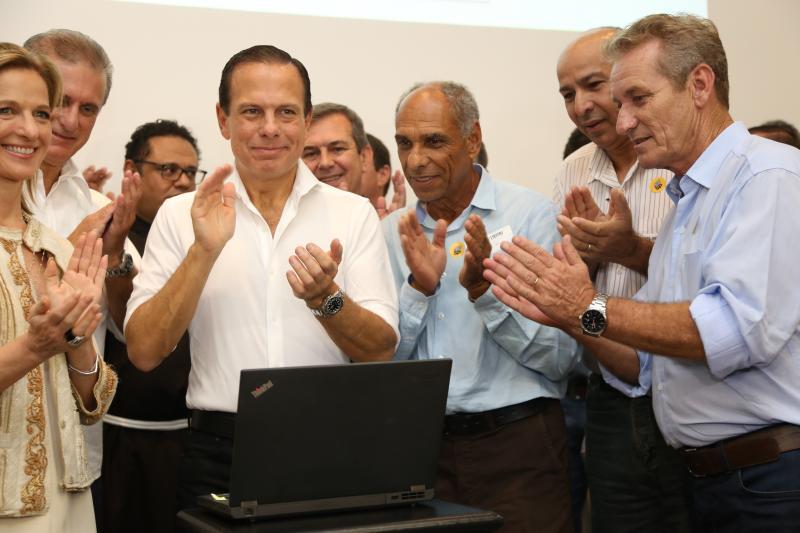 Isadora Crivelli - Governador anunciou a liberação do repasse para o Bom Prato