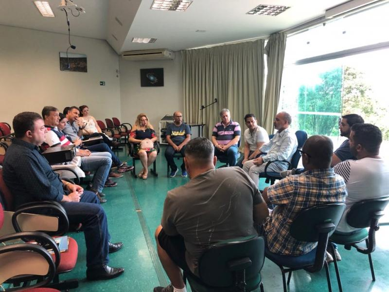 Cedida - Reunião entre representantes ocorreu ontem na Cidade da Criança