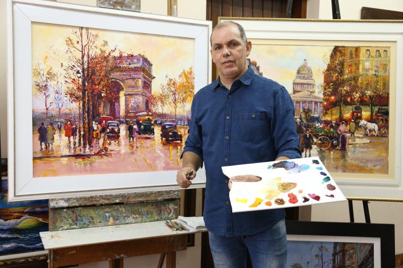 Weverson Nascimento: Cido começou a pintar com 12 anos e nunca mais deixou de lado a paixão