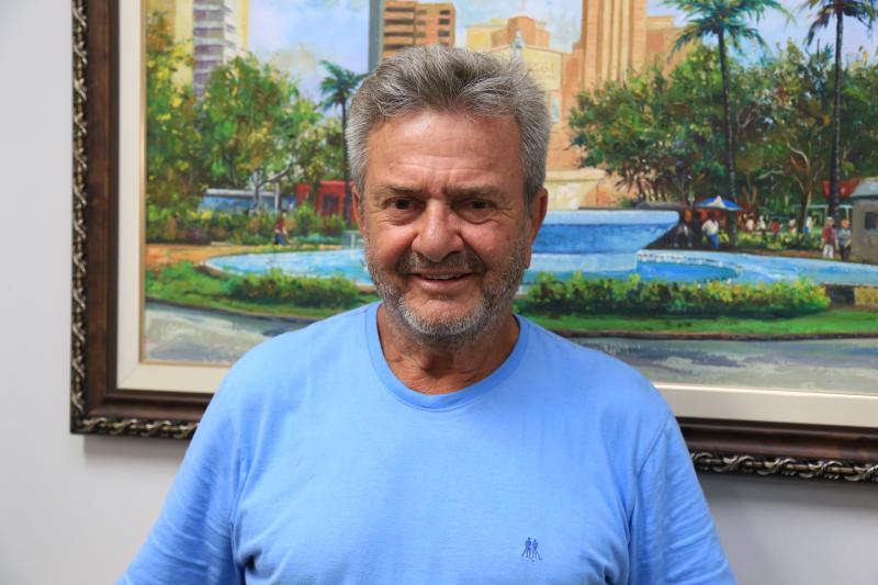 Weverson Nascimento - Marinheiro defende a volta dos desfiles oficiais e afirma que subvenção municipal para esse fim não é gasto, é investimento social