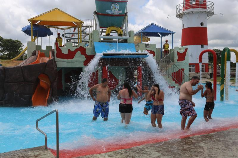 Gabriel Buosi - Parque Aquático de Prudente é opção de lazer para o carnaval