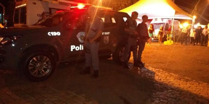 Polícia Militar - Equipes se dividem em pontos estratégicos