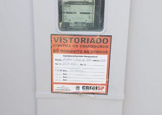 Antonio Marcos Rocha/Cedida - Depois de vistoriado, imóvel recebe selo assinado pela VEM e pelo Creci-SP