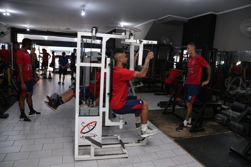 Foto: Isadora Crivelli - Treinos físicos: rotina na pré-temporada dos atletas do Grêmio Desportivo Prudente