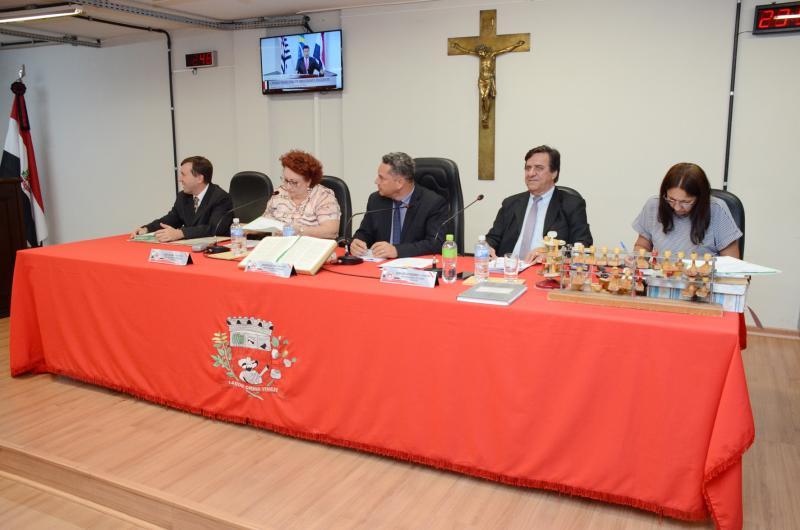 Maycon Morano/AI da Câmara - Vereadores aprovaram 11 PLs; as reformulações sobre a Prudenco foram adiadas