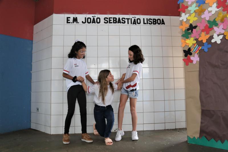 Isadora Crivelli:Alunos da EM João Sebastião Lisboa dão exemplo de bom senso