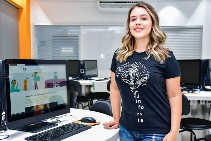 Foto: Nathalia Rodrigues de Almeida, de Presidente Prudente, é uma das selecionadas para o She++ é um programa extracurricular da Universidade Stanford