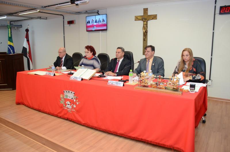 Maycon Morano/Câmara de Prudente - Legisladores discutiram e aprovaram todos os oito PLs da sessão ordinária