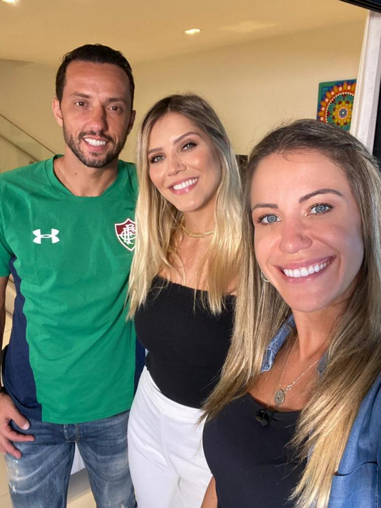 """Divulgação - Craque Nenê é o entrevistado de domingo no quadro """"EE de Casa"""", do """"Esporte Espetacular"""""""