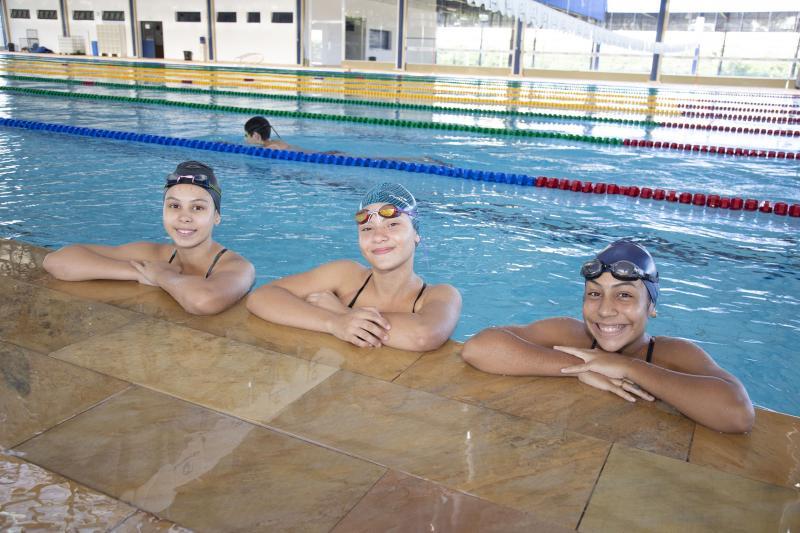Weverson Nascimento - Meninas, todas de 15 anos, chegam com boas expectativas e animadas para integrar competições