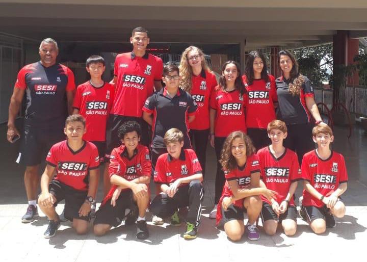 Cedida/Mayara Bacarin - 13 atletas da equipe Sesi de PP foram em busca de pódios