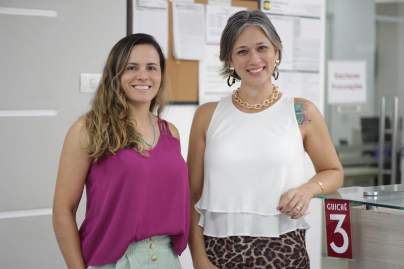 Miguel Toninato:Na linha de frente do 3ºTabelião de Notas de Prudente, as belas Taise Costa e Paula Correa