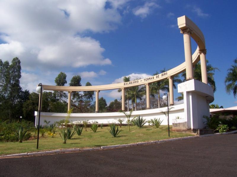 Cedida - Portal da Estância de Ibirá, famosa pelos banhos de imersão nas águas vanádicas