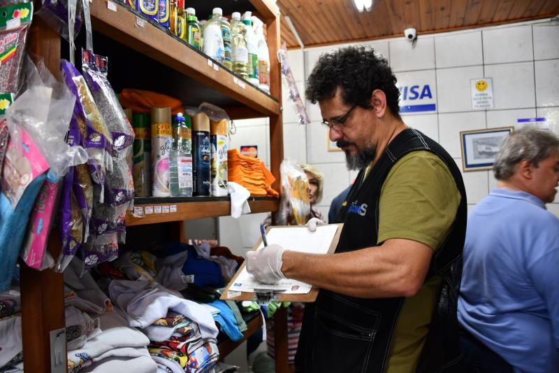 Marcos Sanches/Secom - Estabelecimentos receberem visitas dos agentes na quinta-feira