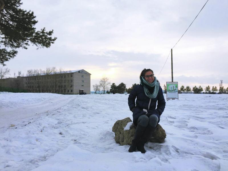 "Milena Mendes: ""inverno castigador"""