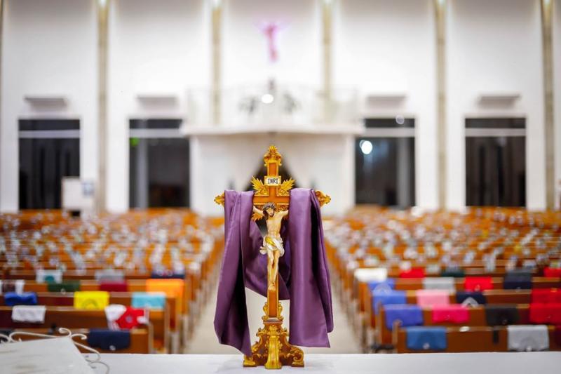 Wellington Motta/Cedida - Na Paróquia Nossa Senhora do Carmo são recepcionadas cerca de 800 fotos por dia