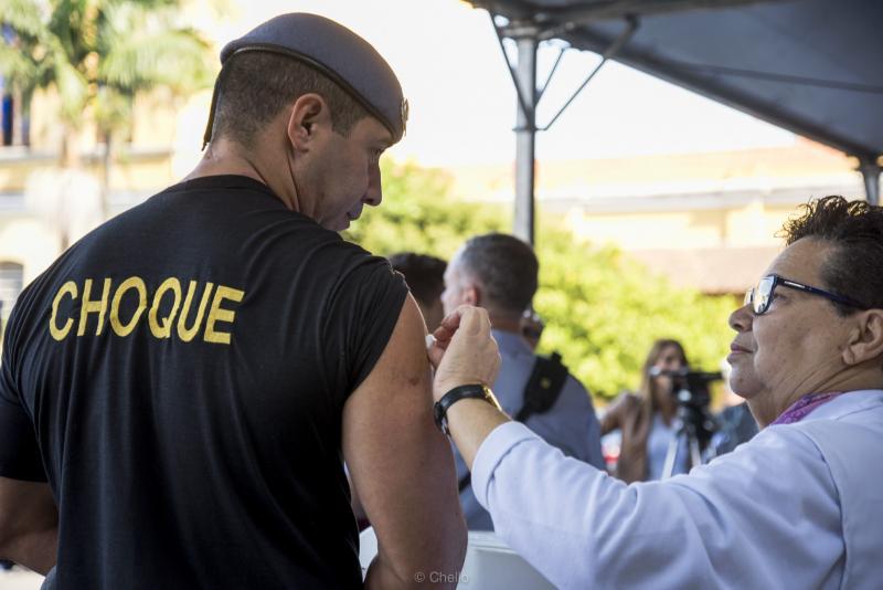 SSP/Arquivo - Vacinação começa na segunda-feira em todo o Estado