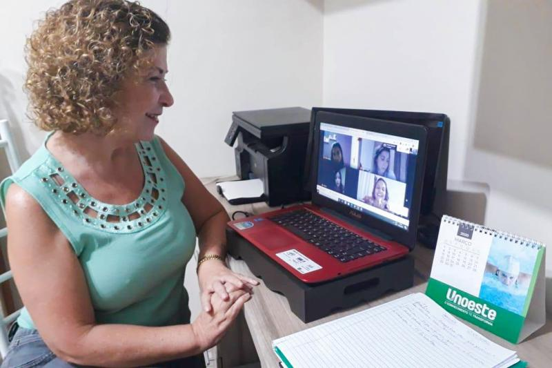 Cedida - O Aprender, ambiente virtual de aprendizagem da Unoeste, tem sido o principal suporte das aulas