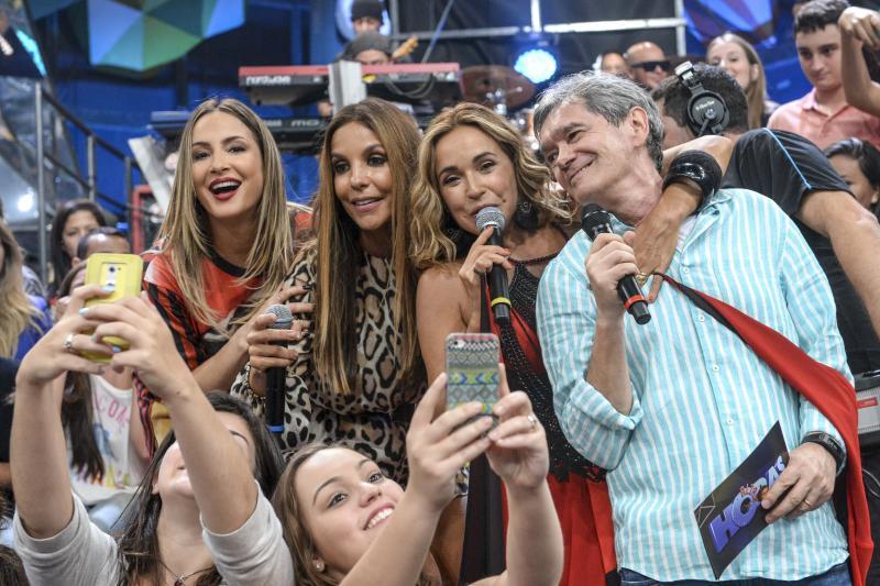 Zé Paulo Cardeal / TV Globo - Cantoras participam de edição especial em homenagem ao axé