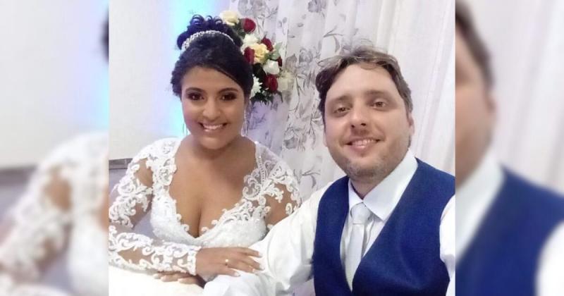 Reprodução/Facebook - Renata e Alex haviam se casado há 11 meses