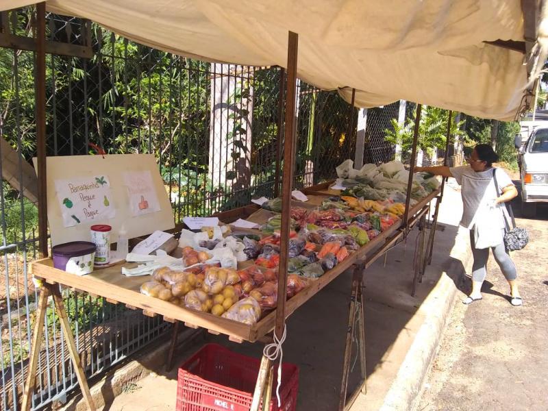 Cedida - São vendidos cerca de 400 itens diariamente no pegue e pague da família Kitano