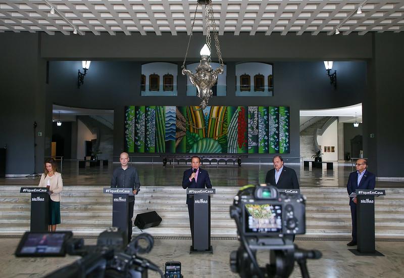 AI do governo - Anúncio foi feito hoje pelo governador João Doria