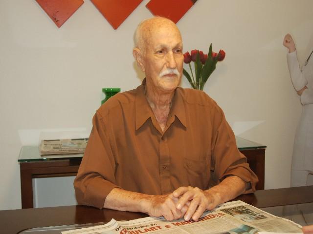 Prefeitura de Prudente/Site - Júlio Dias Goulart tinha 93 anos e teve falência múltipla dos órgãos