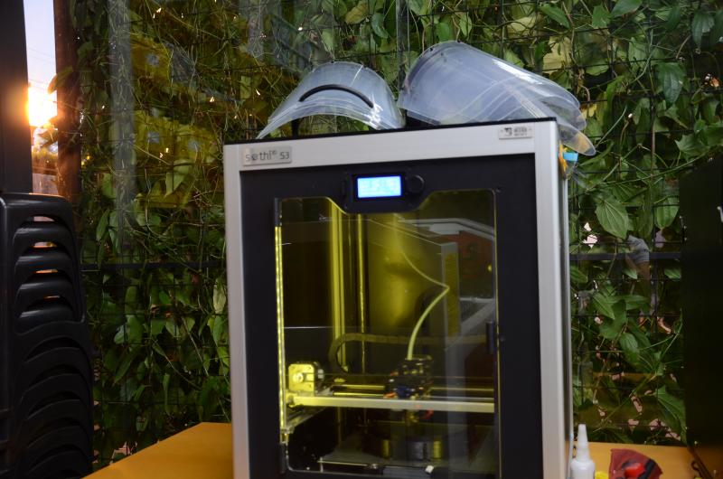 Toledo Prudente - Aparatos são produzidos em impressora 3D no centro universitário