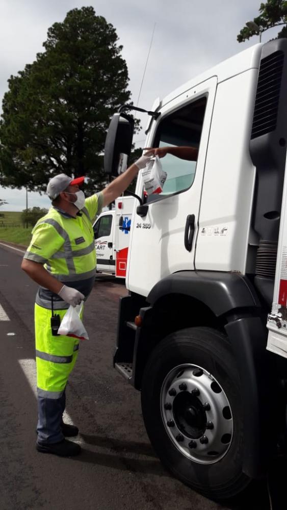 Cart - Na quarta-feira haverá ação com caminhoneiros em Presidente Prudente