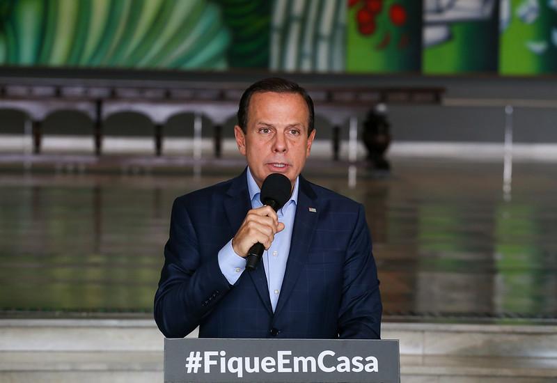 Arquivo - João Dória lembra que investimento de R$ 100 milhões vem do setor privado