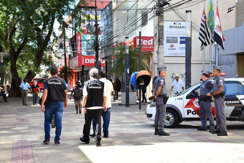 Marcos Sanches: Fiscalização ocorreu no quadrilátero central de Prudente