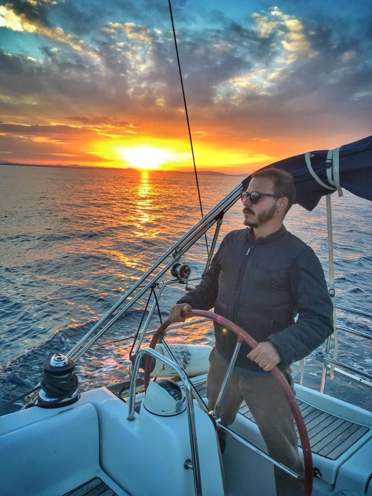 """Fred Mesquita, quarentena no veleiro, em alto mar: """"Não tenho uma casa há mais de seis anos, fiz da minha vida uma viagem"""""""