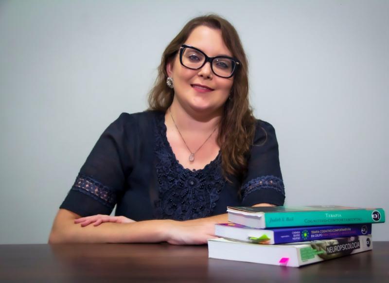 Cedida: Andreia destaca a importância de definir cronogramas de brincadeiras e estudos