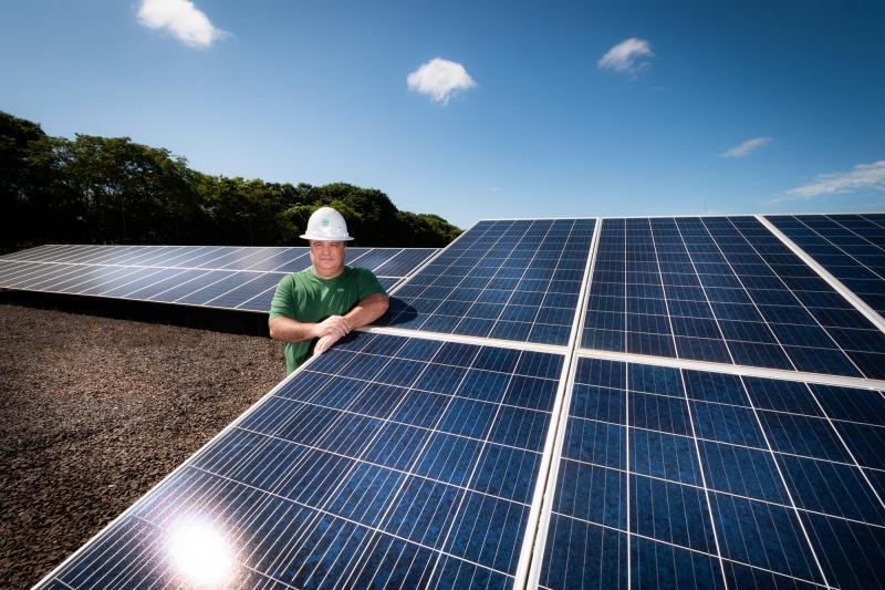 Ector Gervasoni - Engenheiro Ednei Zaupa enaltece benefícios ambientais e financeiros