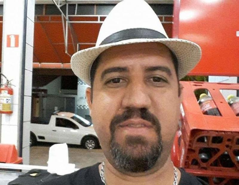 Reprodução/Facebook - Motorista Luciano Galindo foi morto no ano passado