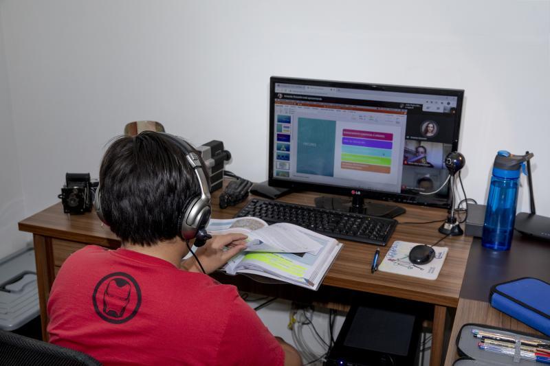 Adriano Kirihara/Cedida - Educação remota busca aproximar o estudante da rotina dentro da escola