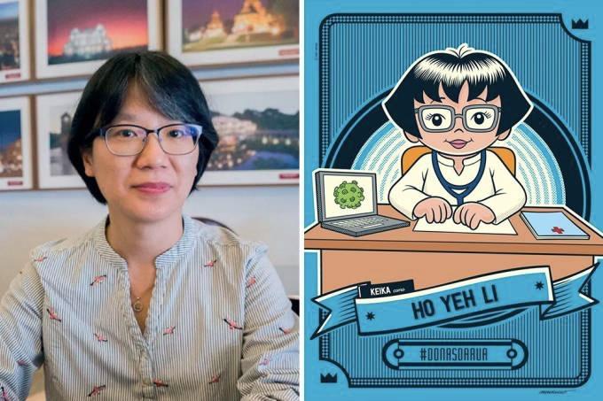 Ho Yeh Lin: primeira mulher da área de saúde homenageada pela Maurício de Souza Produções