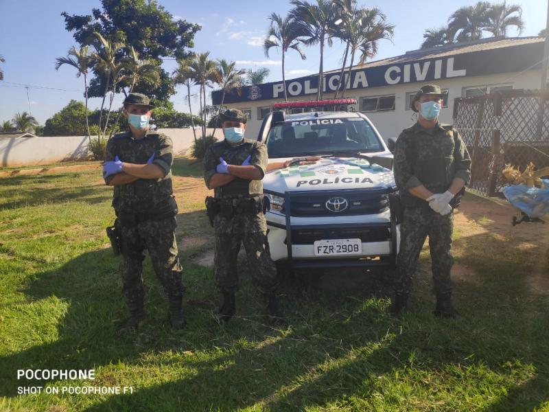 Polícia Militar Ambiental - Operação foi deflagrada em 7 cidades da região